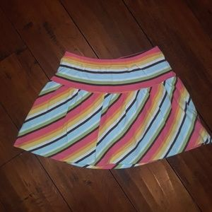 Gymboree girls Cotton Skort Skirt w/shorts sz 6
